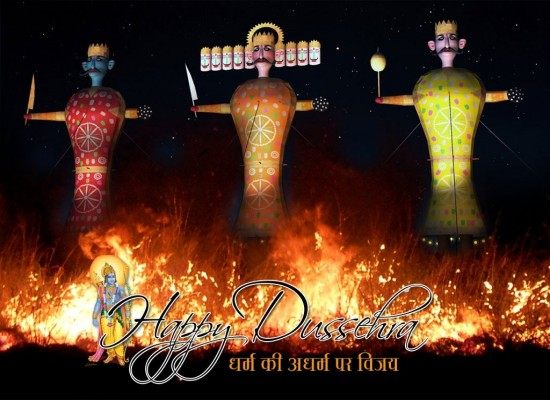 Download Dussehra Images Greetings Card
