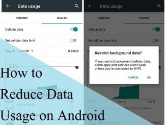 How to Reduce Data Usage on Android Device