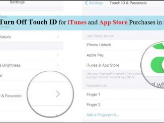 How to turn off Touch ID for iTunes and App Store purchases on iPhone