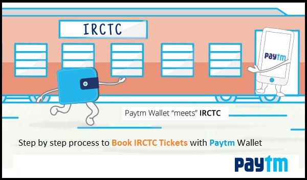 IRCTC Paytm Wallet