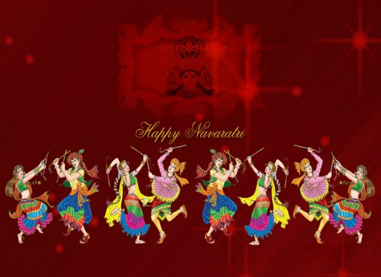 happy navratri images wallpapers free download 2016