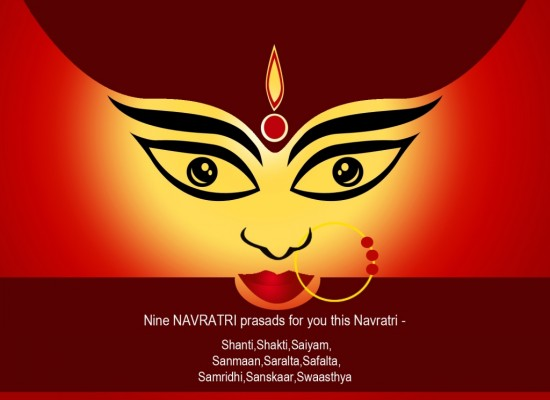 happy navratri maa durga whatsapp status