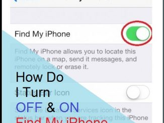How to Turn ON and OFF Find My iPhone