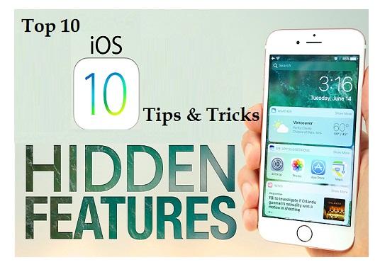 Top 10 iOS 10 Tips and iOS 10 Tricks