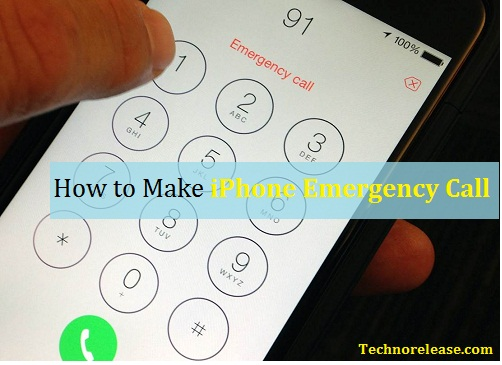 iPhone Emergency Call