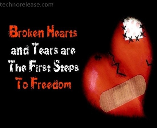 broken heart pics for whatsapp dp