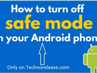 how-to-turn-off-safe-mode-in-android