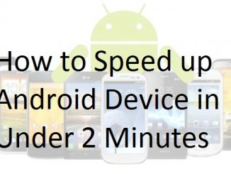 How to Speed up Android Device