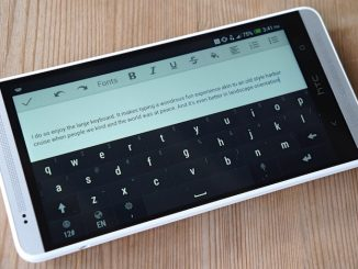 Android Phone Keyboard