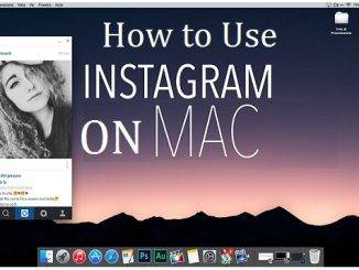 How to Use Instagram on Mac to Upload Post