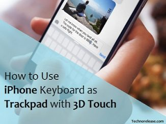 Use iPhone as Trackpad