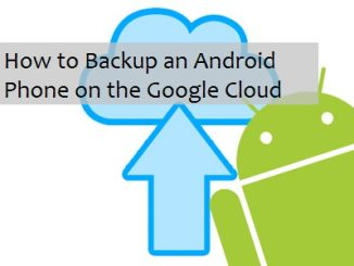How to backup your phone to the cloud